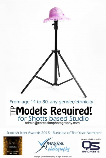 Models Required for Studio and Outdoor Work
