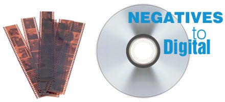 Convert Slides and Negatives to Digital Files