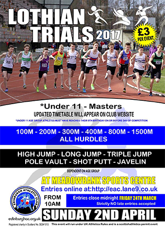 Lothian Trials 2017