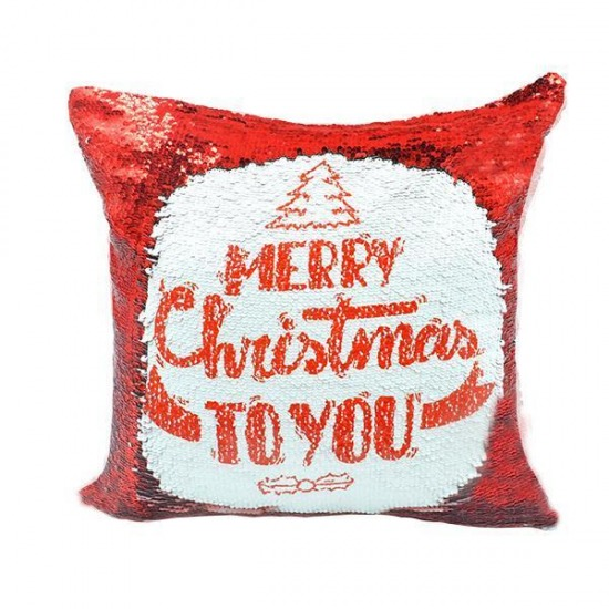 Personalised Sequin Cushion Covers 40cmx40cm