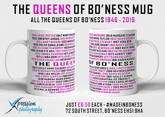 The Queens of Boness Mug