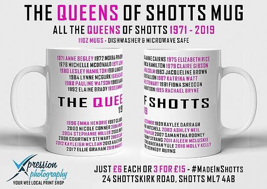 The Queens of Shotts Mug
